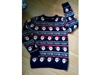 Next Christmas jumper age 13