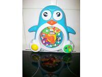 Little Tikes Toy Penguin Clock