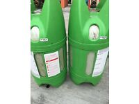 Lightweight 10 litre gas bottles