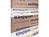 Kingspan 50mm Insulation boards