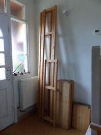 IKEA IVAR shelving unit, 30 cm deep