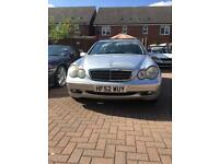 2002 Mercedes c220 estate 130k miles 11 months mot with tow bar