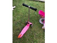 Pink Mini Micro Scooter