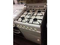 White sola grill 50cm gas cooker grill & oven good condition with guarantee