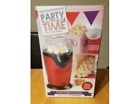 New Party Time stylish red popcorn maker