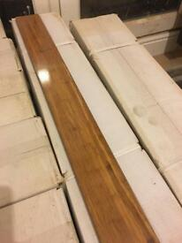 Solid Carbonised Bamboo flooring (brand new in box)