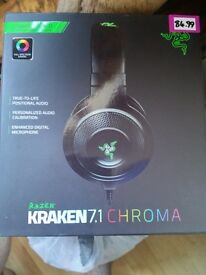 Kraken Chroma 7.1 gaming headset