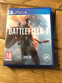 Battlefield 1 for Ps 4