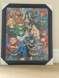 Framed DC Comics - Cast
