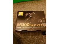 D5300 Dslr Camera with Sigma lense