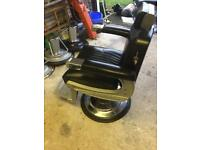 Two Belmont Apollo 2 barbers chairs