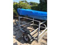 Double dinghy trailer