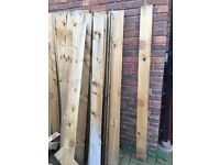 Treated Timber fence boards - I have more than 200 off feather edge fence boards to sell 180X12X1cm