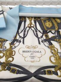 Genuine Hermes 'Brides de Gala' Silk Scarf - Unused, Still in Box