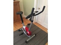 Exercise bike for sale - used twice - perfect condition
