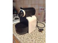 Nespresso coffee machine magimix white