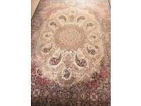 Stunning Large Persian Carpet 250cm x 350cm (two available)