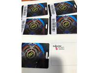ELO Concert Tickets SSE ARENA Belfast 26th October OFFICIAL PLATINUM TICKETS