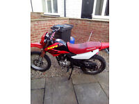 I recently bought this motorbike off a friend as a project but unfortanatly cant affford to keep it.