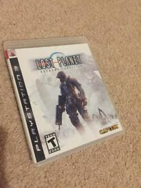 PlayStation 3 lost planet game