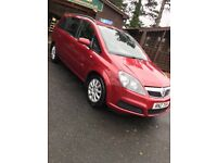 Vauxhall Zafira 1.6 Petrol 7 Seats MOT to March 18