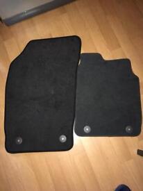 Audi a1 front mats