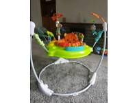 Fisher price jumperoo only 4 months old