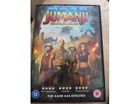 Brand new jumanji dvd