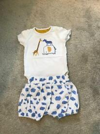 3-6 months baby boy summer bundle