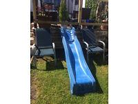 8ft Garden Slide - Blue