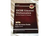 EDEXCEL GCSE Higher level Maths revision guide Grade 9-1