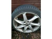 """Ronal 20"""" Alloy Wheels and tyres"""