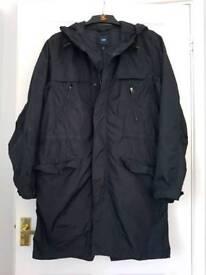 Mens parka raincoat GAP size M