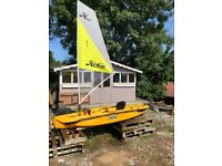 Hobie Mirage Sport Kayak - With Mirage Drive with Sail
