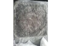 SINGLE Pillow Case Gray Fur XL