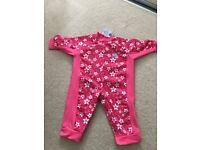 Splash About UV All in One Protection Girls Wet Suit 3-6 Months