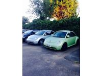 SELECTION OF TWO 2001 REG AND 2002 REG VW BEETLE BOTH WITH CAMBELT BEEN REPLACE/HPI CLEAR