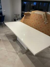 Danetti high gloss dining room table 180cmx75x95