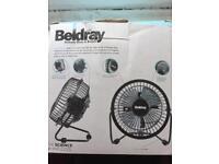 Beldreay usb mini fan