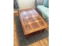 RETRO Vintage 1960's / 70's solid wood coffee table