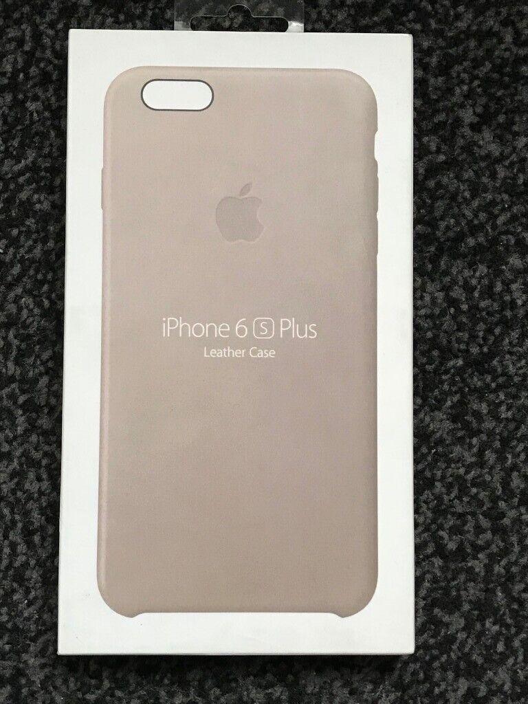 buy popular e08ef 43e32 Genuine Apple Leather Case for iPhone 6s Plus, 6 Plus | in Upton Park,  London | Gumtree