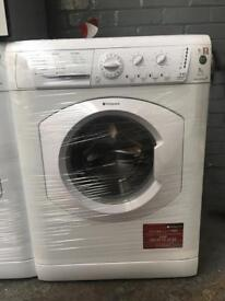 HOTPOINT Aquarius free standing washing machine 7 kg 1200 Spin in perfect Working Order