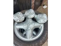 Ford alloys and tyres