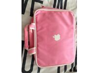 Pink Laptop/Macbook bag & IPad Case/Sleeve