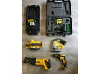 Dewalt power tools from