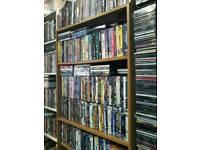 Range of books dvds cds