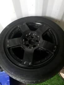 Audi a6 alloys