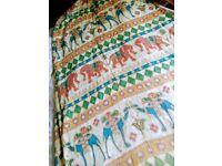 vintage cotton curtains