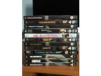 12 James Bond DVDS Like new condition £25