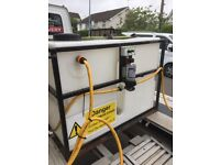 Window cleaning tank pump and controller van set up £150
